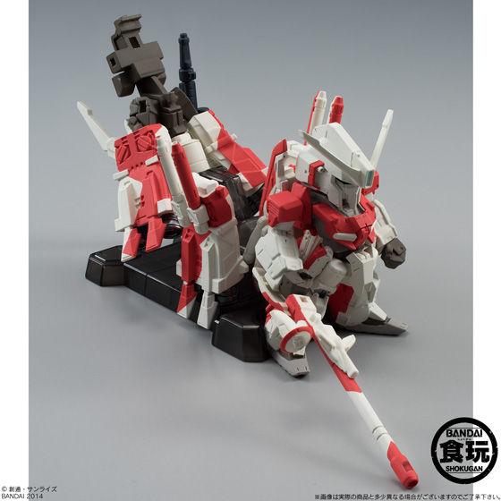 【送料無料】FW GUNDAM CONVERGE EX04 ハミングバード(Ver.RED&BLUE) 同時購入セット