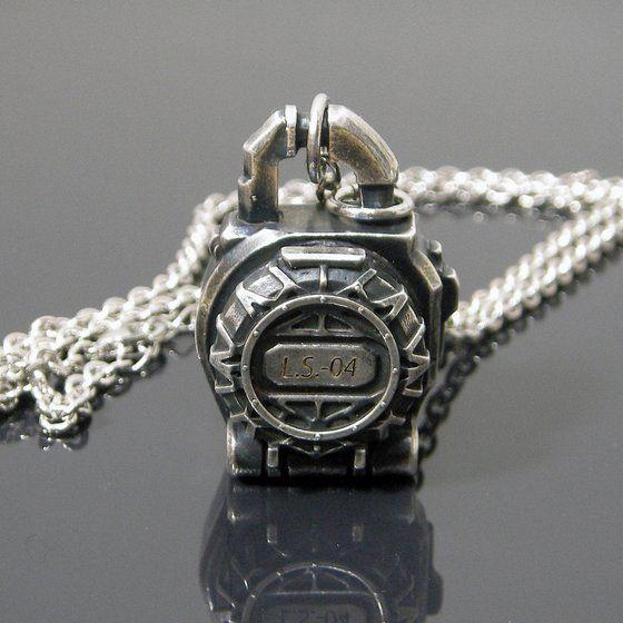 仮面ライダー鎧武 ロックシードデザイン silver925ネックレス メロンロックシード