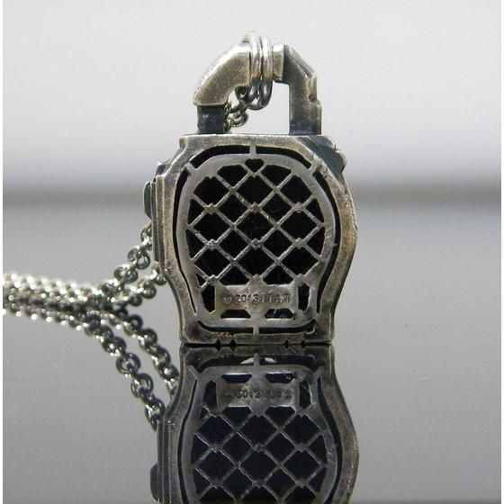 仮面ライダー鎧武 ロックシードデザイン silver925ネックレス オレンジロックシード