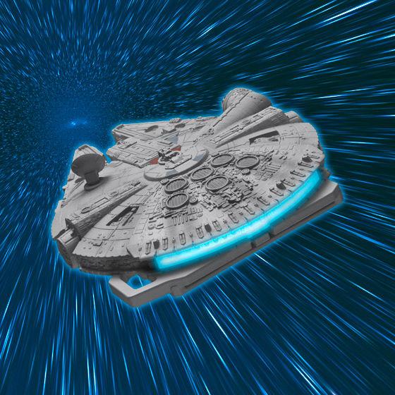 STAR WARS CRAZY CASE TOUCH MILLENNIUM FALCON�i�X�^�[�E�E�H�[�Y�@�N���C�W�[�P�[�X�^�b�`�@�~���j�A���t�@���R���j