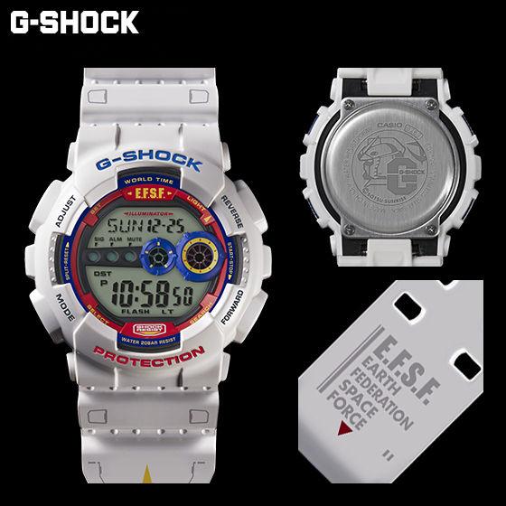 【抽選販売】機動戦士ガンダム35周年記念商品 G-SHOCK x GUNDAM