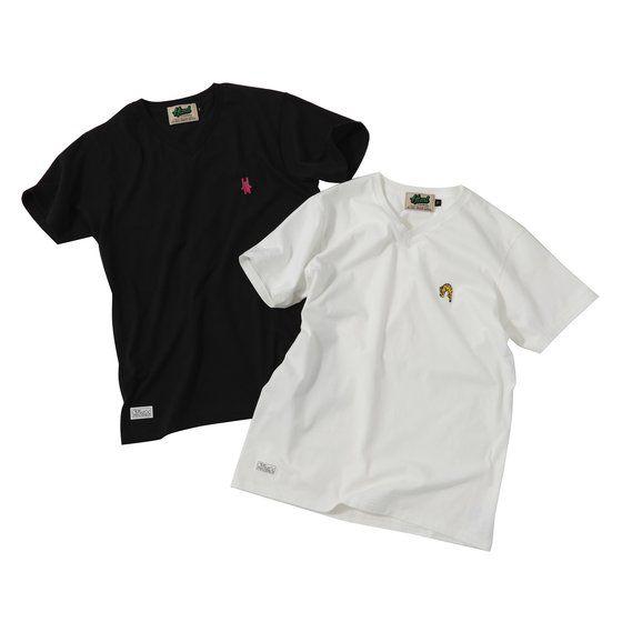 TIGER&BUNNY The Rising HTMLコラボVネックTシャツ