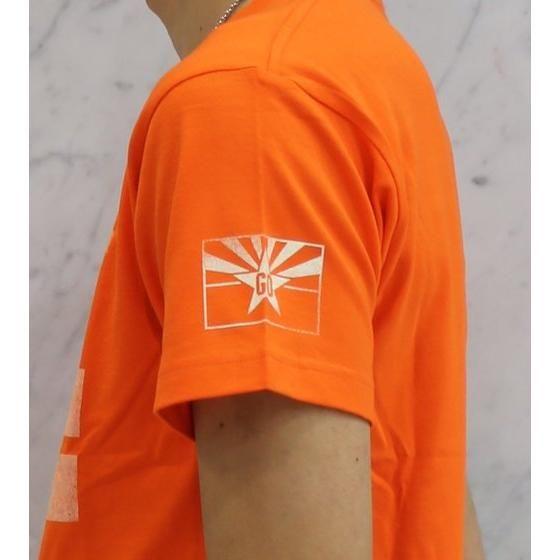 仮面ライダードライブ 詩島剛 アメリカGOTシャツ アリゾナ オレンジ