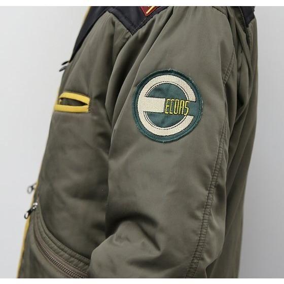 機動戦士ガンダムユニコーン 連邦軍エコーズ・デザインMA-1タイプジャケット ダグザ・マックール中佐イメージモデル