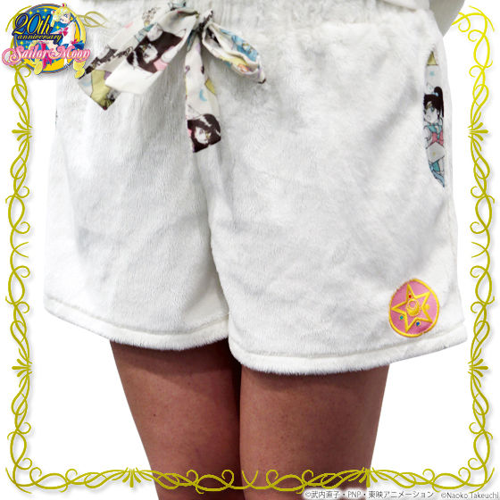 美少女戦士セーラームーン モコモコショートパンツ