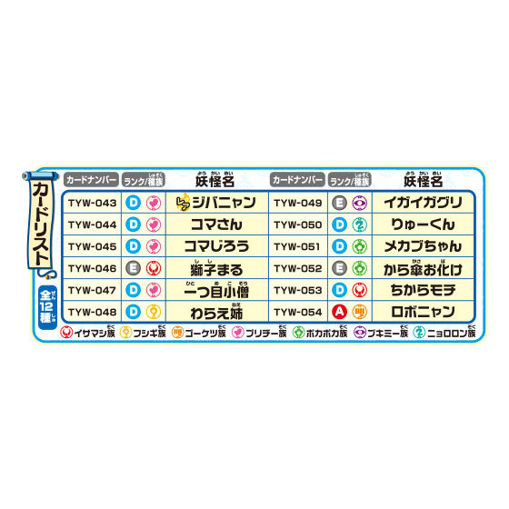 妖怪ウォッチともだちウキウキペディア 妖怪3Dカードメーカー弐