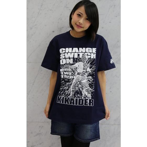 人造人間キカイダー×ノルソルマニア Tシャツ キカイダー柄