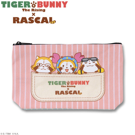 TIGER&BUNNY The Rising × RASCAL ポーチ
