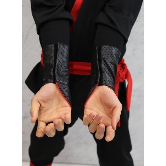 手裏剣戦隊ニンニンジャー 胴着5点セット(上下+帯+タンクトップ+手甲) アカニンジャー