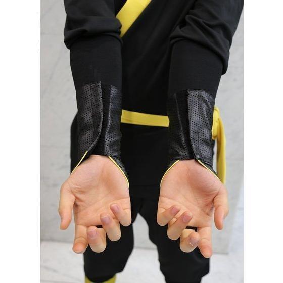 手裏剣戦隊ニンニンジャー 胴着5点セット(上下+帯+タンクトップ+手甲) キニンジャー