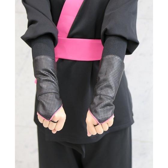 手裏剣戦隊ニンニンジャー 胴着5点セット(上下+帯+タンクトップ+手甲) モモニンジャー