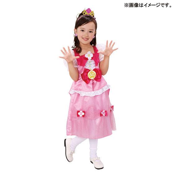 Go!プリンセスプリキュア 変身プリチューム 光る!プリンセスジュエリーティアラ キュアフローラ