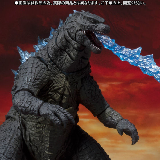 S.H.MonsterArts ゴジラ(2014) Spit Fire Ver.