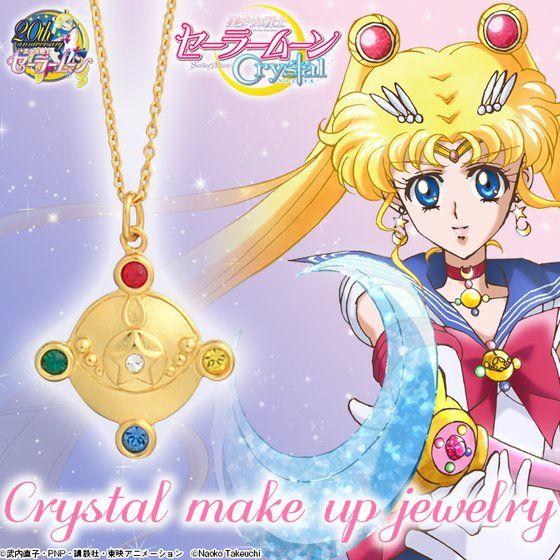 【再受注】-Crystal make up jewelry-美少女戦士セーラームーンCrystal  Crystalブローチペンダント