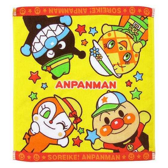 おもちゃいっぱい!アンパンマンタオルケーキ