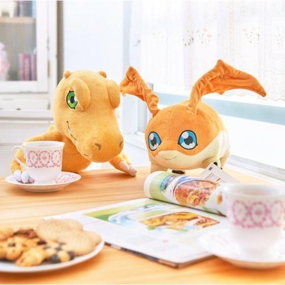 STUFFED Collection デジモンアドベンチャー アグモン&パタモン セット