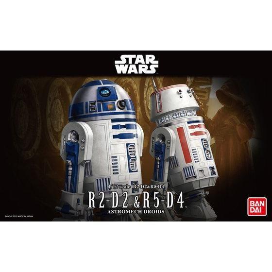 1/12 R2-D2&R5-D4