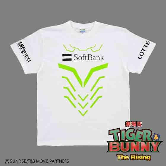 劇場版 TIGER & BUNNY The Rising ヒーローTシャツ ワイルドタイガー Style2