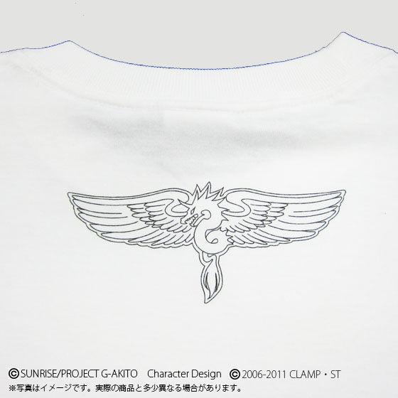 コードギアス 亡国のアキト KMF Tシャツ W0X Alexander Type-01
