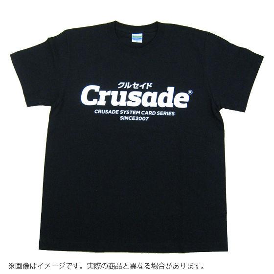 Crusadeシリーズ 蓄光Tシャツ(ブラック)