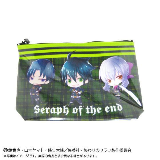終わりのセラフ SDキャラクターラミネートポーチ