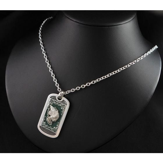 �����m���� LEGEND of SANCTUARY x haraKIRI Collaboration Silver925 DOG TAG�@�u���f��