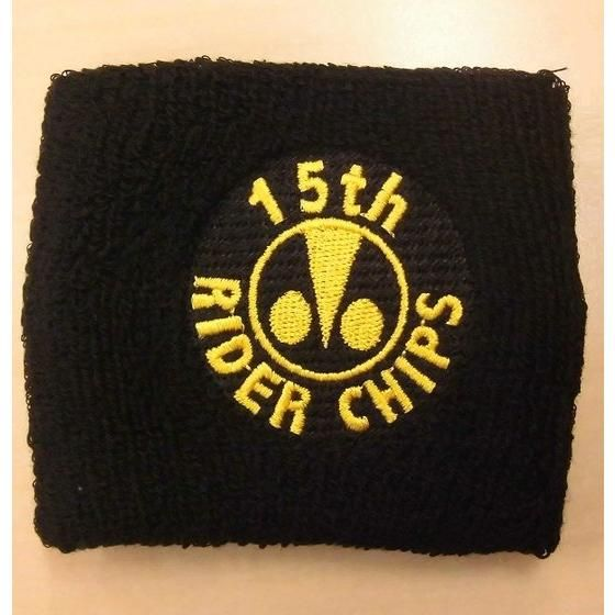 RIDER CHIPS(ライダーチップス) リストバンド 15周年ver.