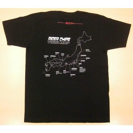 RIDER CHIPS(ライダーチップス)ツアーTシャツ 15周年記念ver.