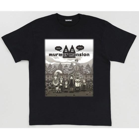 仮面ライダードライブ murmur mansion(マーマーマンション) 西城究 Tシャツ 黒