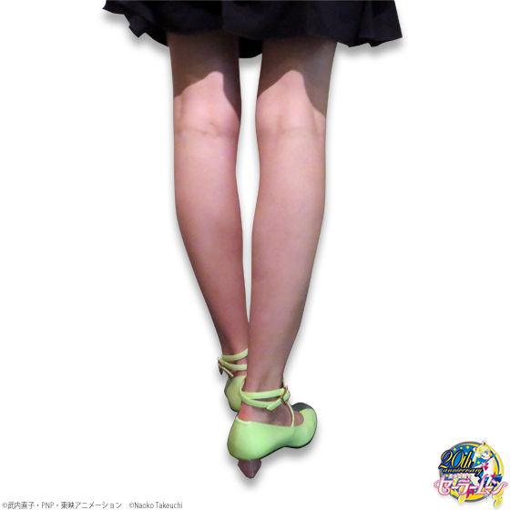 美少女戦士セーラームーン×ちゃけちょけパンプス セーラージュピターモデルパンプス