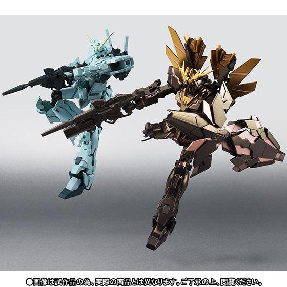 ROBOT魂 〈SIDE MS〉 ユニコーンガンダム&バンシィ・ノルン ファイナルシューティングVer.