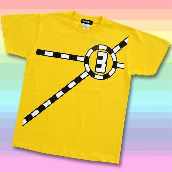 烈車戦隊トッキュウジャー トッキュウ3号 Tシャツ