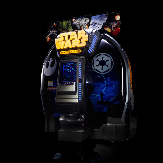 スター・ウォーズ:バトル ポッド 4,560,000円(税込)(国内送料・設置費用込) 一時申込/設置確認書