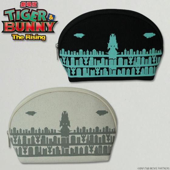 劇場版 TIGER & BUNNY -The Rising- ドットビット シュテルンビルト 夜景 ラウンドポーチ
