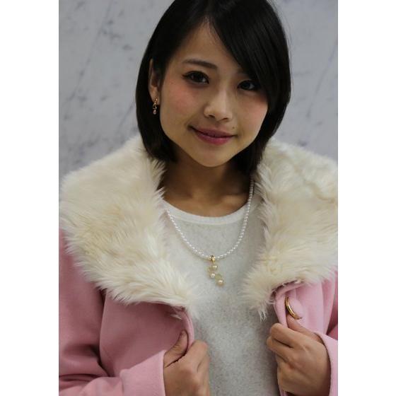 【受注生産】  手裏剣戦隊ニンニンジャー モモニンジャー 百地霞 silver925ピアス