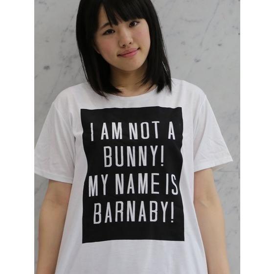 TIGER & BUNNY ロゴTシャツ バーナビー I AM NOT A BUNNY