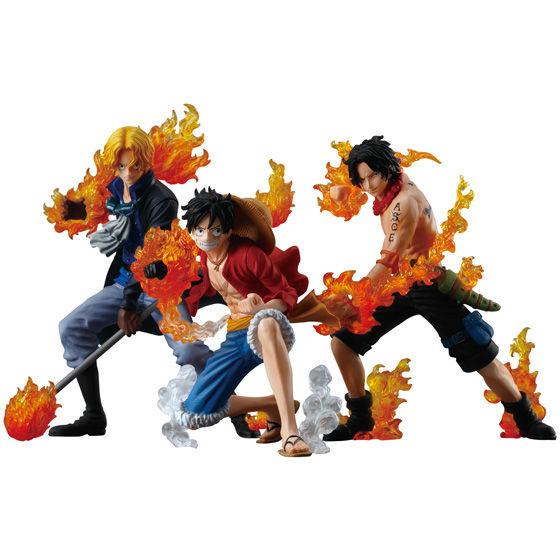 ワンピース ATTACK STYLING 炎の3兄弟 全3種・3個セット
