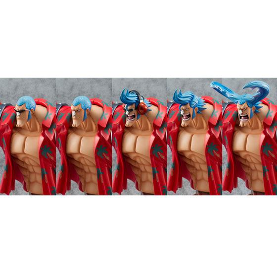 """【抽選販売】P.O.Pワンピース""""SA-MAXIMUM"""" アーマード・フランキー(再販)【送料無料】"""