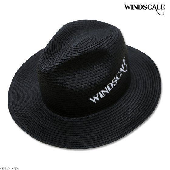 仮面ライダーW WIND SCALE 天然広円中折れハット ブラック