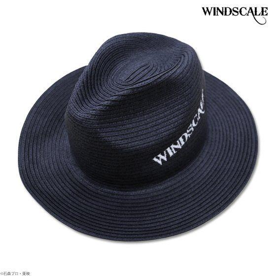 仮面ライダーW WIND SCALE 天然広円中折れハット ネイビー