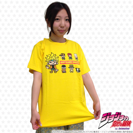 ジョジョの奇妙な冒険×Panson Works DIOTシャツ