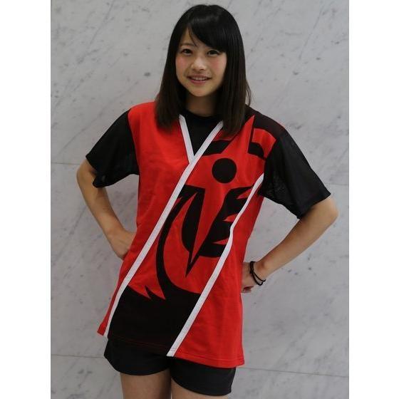 手裏剣戦隊ニンニンジャー アカニンジャー なりきり風Tシャツ
