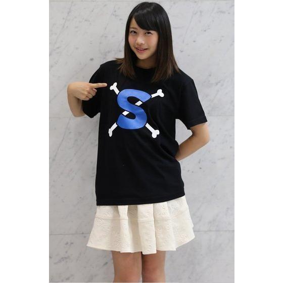 ワンピース サボ海賊旗Tシャツ
