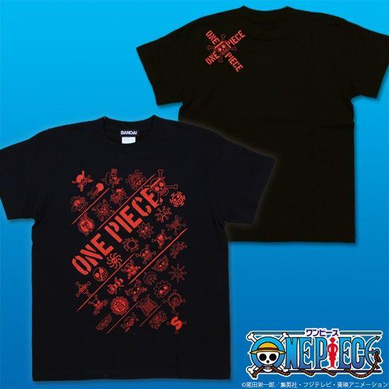 ワンピース 海賊旗集合Tシャツ