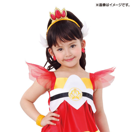 Go!プリンセスプリキュア 変身プリチューム スカーレットアクセサリーセット