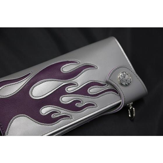 仮面ライダードライブ×haraKIRI Collaboration Silver925 レザーウォレット 「仮面ライダーチェイサー」モデル