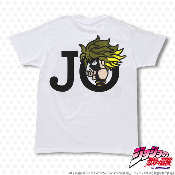 【再受注】ジョジョの奇妙な冒険×Panson Works JOJO Tシャツ