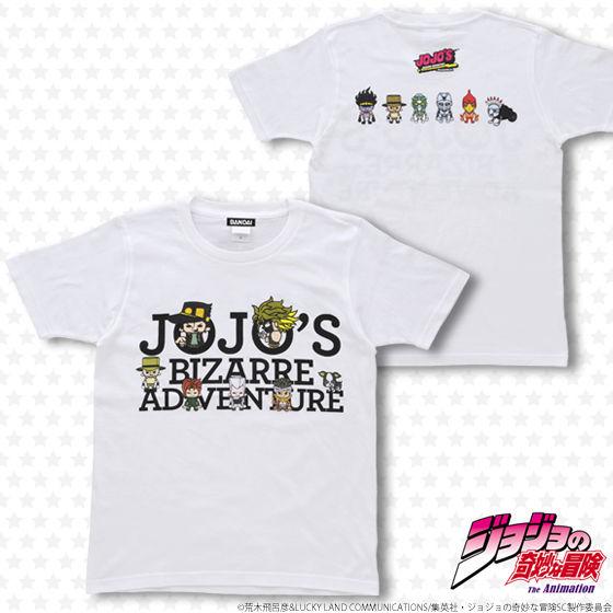 プレミアムバンダイ新着!【再受注】ジョジョの奇妙な冒険×Panson Works JOJO'S BIZARRE ADVENTURE Tシャツ 新作グッズ予約速報