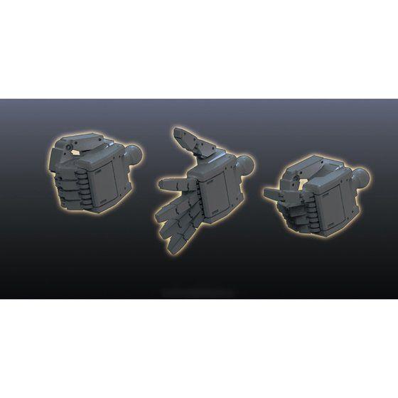 ビルダーズパーツHD MSハンド01(連邦系) ダークグレー