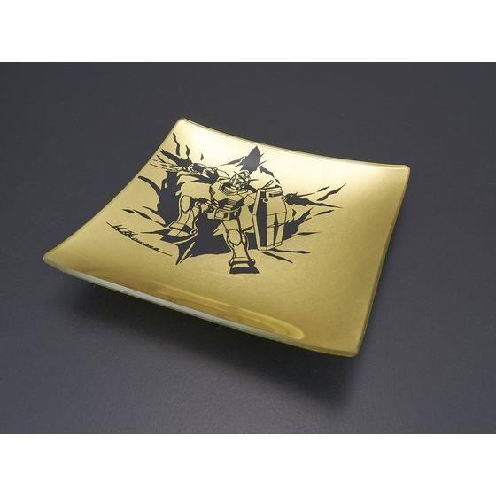 GUNDAM 金箔ガラスプレート